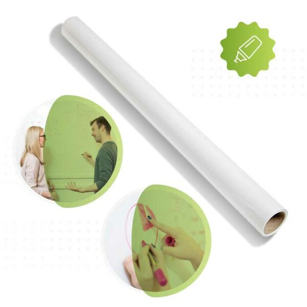 Produktbild blank whiteboardtapet