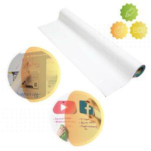 Produktbild magnetisk och projektor whiteboard tapet