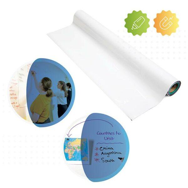 Produktbild magnetisk whiteboardtapet