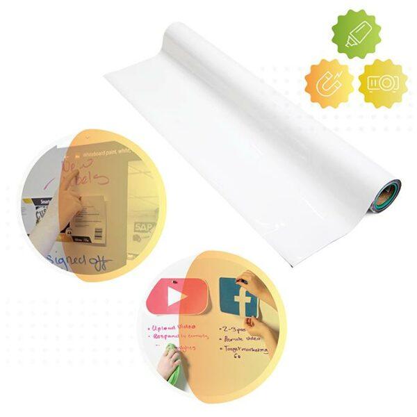 Whiteboard tapetprodukt