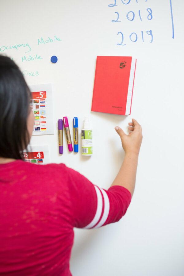 magnetiska whiteboard tapeter