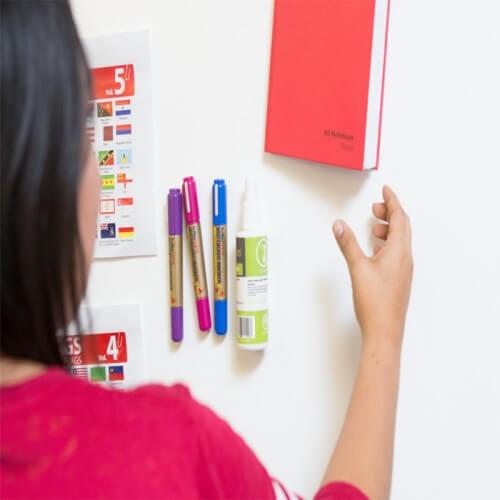 magnetiska whiteboard magneter