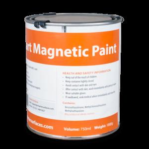 magnetisk färg
