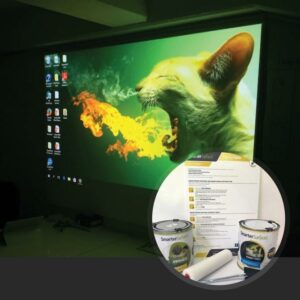 Mer glansig produktbild för skärmmålarfärg