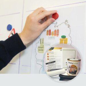 Produktbild magnetisk färg används
