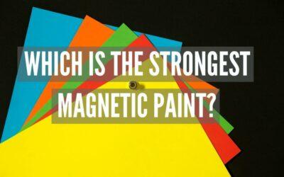 Den starkaste magnetfärgen?