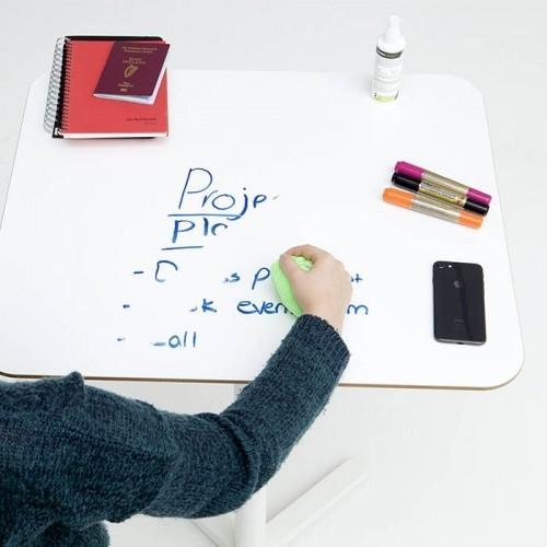 Från whiteboardfilmen lämnar whiteboardsna med en mikrofiberduk