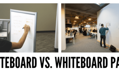 Whiteboardfärg eller whiteboardtavla?