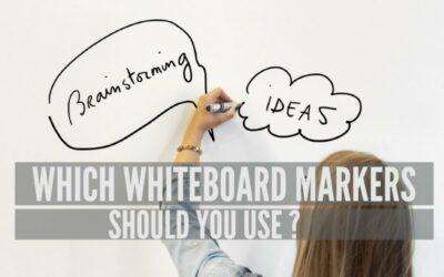 Vilka whiteboardtavlor ska du använda med whiteboard -beläggningar?